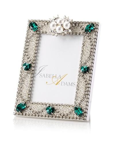 Isabella Adams 3.5 x 5 Freshwater Pearl & Swarovski Crystal Picture Frame, May