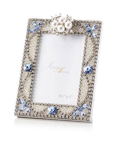Isabella Adams 3.5 x 5 Freshwater Pearl & Swarovski Crystal Picture Frame, December