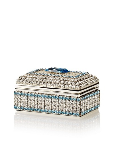 Isabella Adams Freshwater Pearl & Swarovski Crystal Ring Box, March