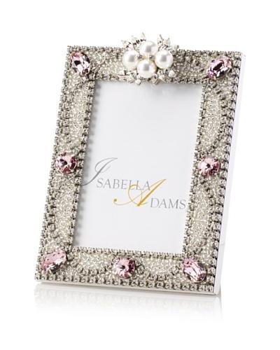 Isabella Adams 3.5 x 5 Freshwater Pearl & Swarovski Crystal Picture Frame