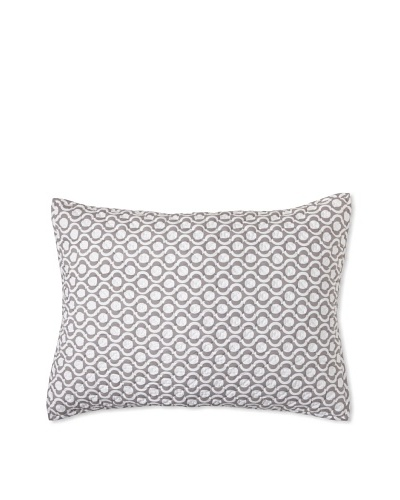 Jaipur Bedding Circle Jaali Pillow Sham [Taupe]