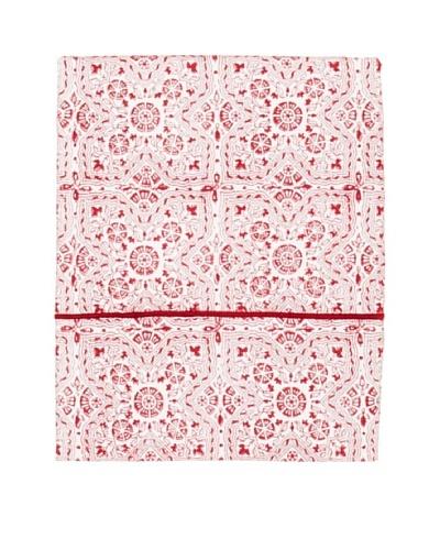 Jaipur by Better Living Fez Flat Sheet [Red]
