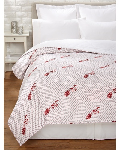 Jaipur by Better Living Mor Quilt [Red]