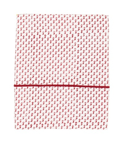 Jaipur by Better Living Patti Flat Sheet [Red]