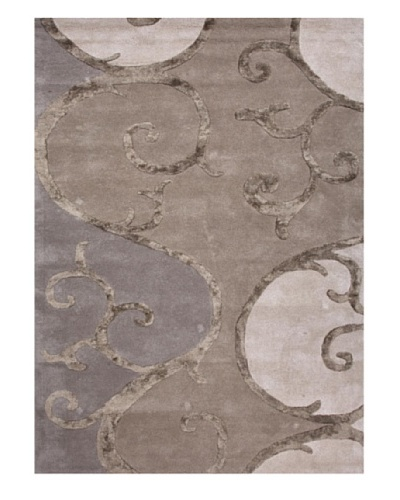 Jaipur Rugs Hand-Tufted Abstract Rug, Taupe/Ivory, 2' x 3'