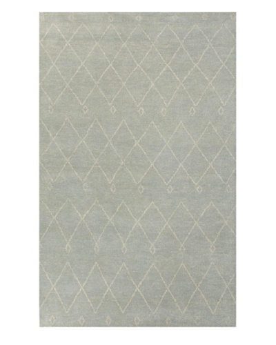 Jaipur Rugs Hand-Knotted Moroccan Pattern Rug, Light Blue/Ivory, 5' x 8'