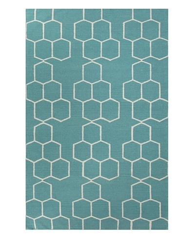Jaipur Rugs Flat-Weave Durable Geometric Rug