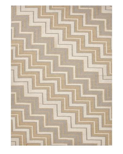 Jaipur Rugs Hand-Made Geometric Flat-Weave Rug