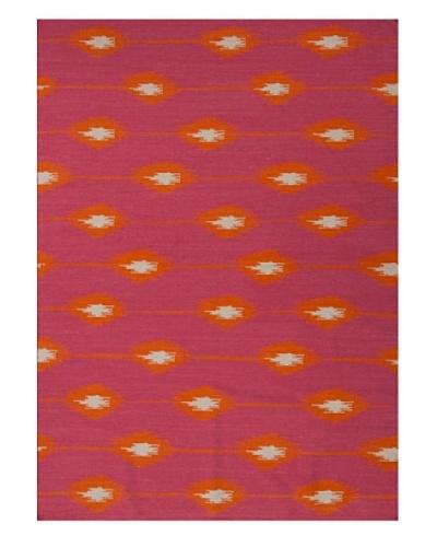 Jaipur Rugs Flat Weave Tribal Pattern Wool Handmade Rug