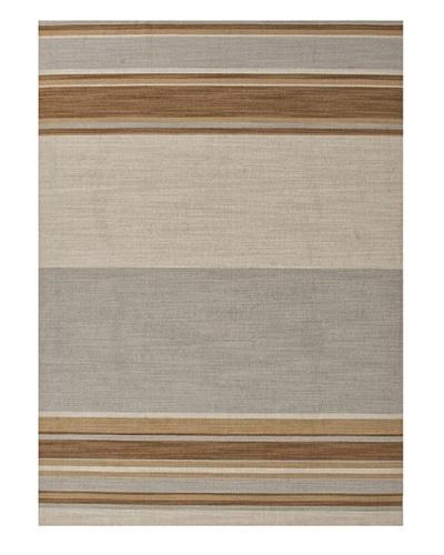 Jaipur Rugs Flat-Weave Stripe Pattern Wool Rug