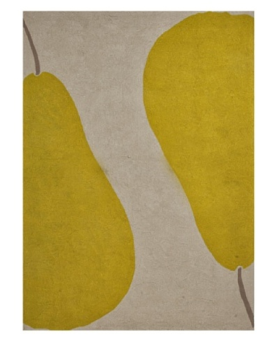 Jaipur Rugs Au Pear Indoor/Outdoor Rug [Beige/Green]