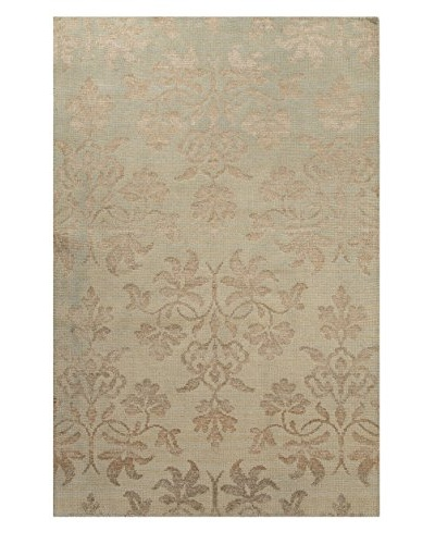 Jaipur Rugs Hand-Knotted Rug, Taupe/Blue, 2' x 3'
