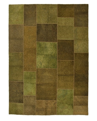 Jaipur Rugs Transitional Solid Knotted Rug, Green, 2' x 3'