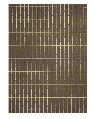 Jaipur Rugs In Line Indoor/Outdoor Rug [Brown/Leaf Green]