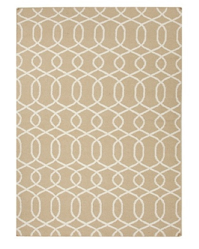 Jaipur Rugs Flat Weave Geometric Rug [Brown]