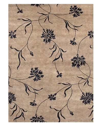 Jaipur Rugs Hand-Knotted Floral Pattern Rug