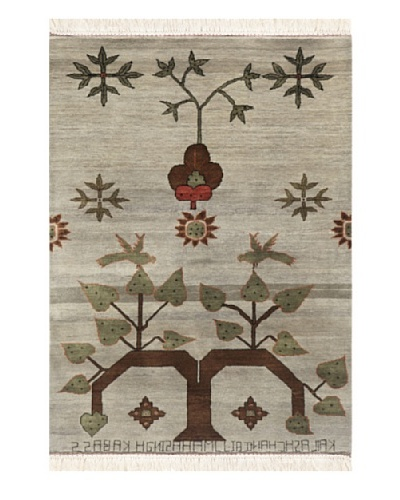 Jaipur Rugs Oriental Hand-Knotted Rug, Multi, 4' x 6'