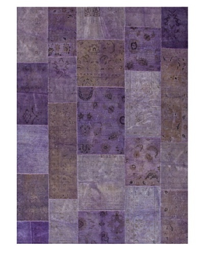 Jaipur Rugs Transitional Solid Knotted Rug, Pink/Purple, 2' x 3'