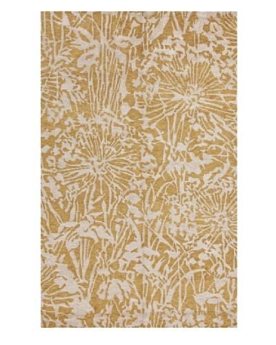 Jaipur Rugs Handmade Flat Weave Rug, Yellow, 2' x 3'
