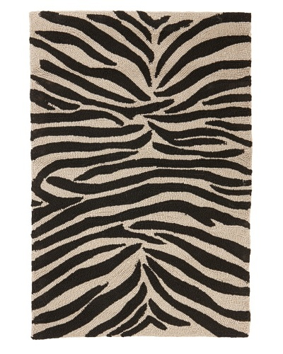 Jaipur Rugs Party Lines Indoor/Outdoor Rug [Ebony/White]