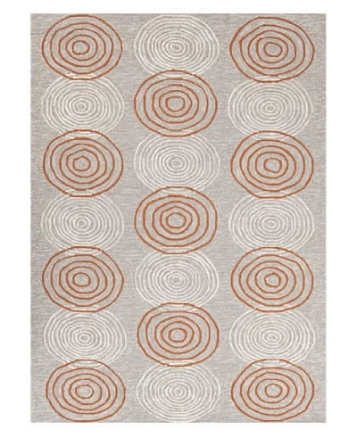 Jaipur Rugs Carla Indoor/Outdoor Rug [Ivory/Red/Orange]