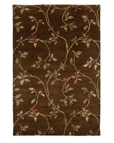 "Jaipur Rugs Handmade Flat Weave Rug, Tobacco, 5' 7"" x 8' 7"""