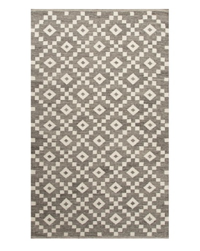 Jaipur Rugs Flat-Weave Durable Rug, Gray/Ivory, 5' x 8'