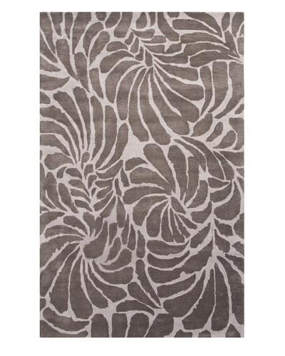 Jaipur Rugs Hand-Tufted Rug, Nickel/Liquorice, 5' x 8'