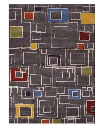 Jaipur Rugs Hand-Tufted Geometric Wool Rug