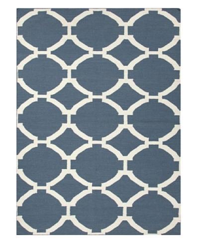 Jaipur Rugs Hand-Made Geometric-Pattern Wool Flat-Weave Rug