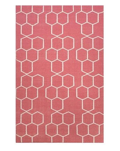 Jaipur Rugs Flat-Weave Geometric Pattern Wool Rug
