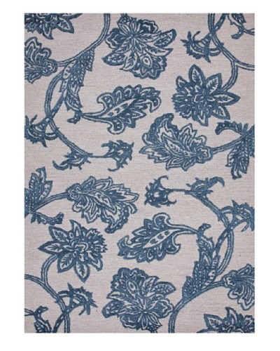 Jaipur Rugs Hand-Tufted Floral Rug, Ivory/Blue, 5' x 8'