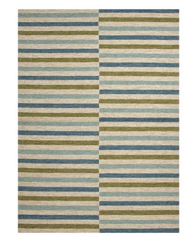 Jaipur Rugs Stripe Pattern Blue Indoor/Outdoor Rug [Blue]