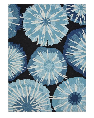 Jaipur Rugs Bursts Indoor/Outdoor Rug [Blue]