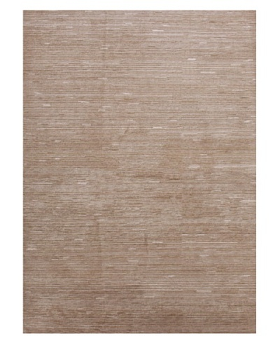Jaipur Rugs Hand-Knotted Tonal Rug, Taupe/Ivory, 3' 6 x 5' 6