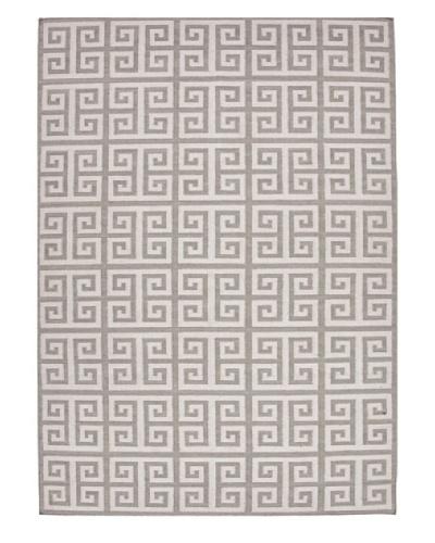 Jaipur Rugs Flat-Weave Geometric Wool Rug