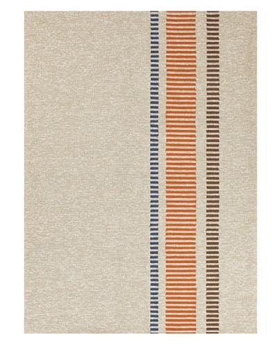 Jaipur Rugs Orange Stripe Indoor/Outdoor Rug [Brown/Red/Orange]