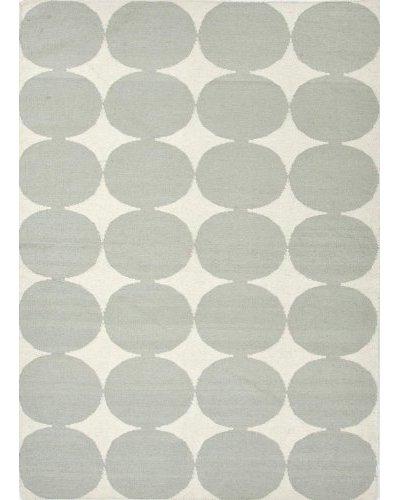 Jaipur Rugs Handmade Flat Weave Geometric Rug Grey