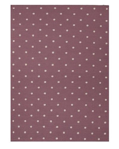 Jaipur Rugs Handmade Flat Weave Geometric Rug [Purple]