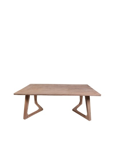 Jamie Young Haven Bent-Leg Coffee Table, Limewash