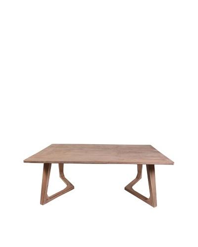 Jamie Young Haven Bent-Leg Coffee Table, Limewash
