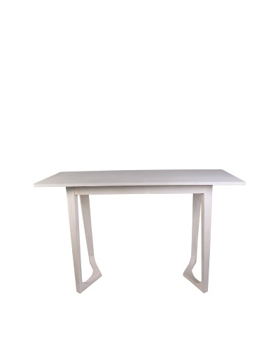 Jamie Young Haven Bent-Leg Console Table, Whitewash