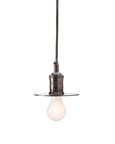 Jamie Young Steam Punk Simple Pendant Light, Gunmetal
