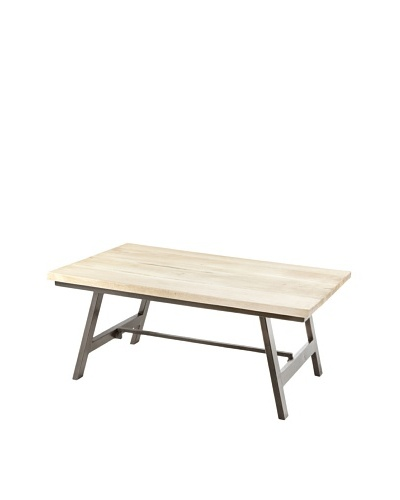Jamie Young Cottage Coffee Table, Natural/Black