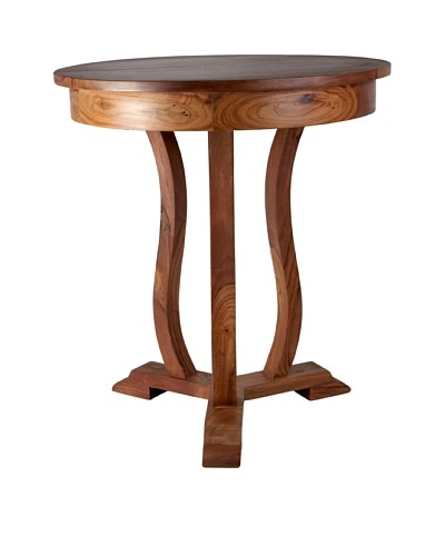 Jamie Young Neville Round Side Table, Natural