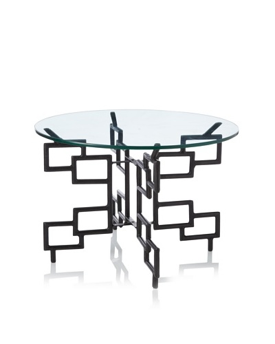 Jamie Young Atticus Folding Table, Iron