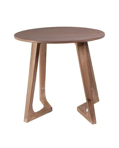 Jamie Young Haven Bent-Leg Side Table, Limewash