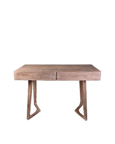 Jamie Young Haven Bent-Leg Desk, Limewash