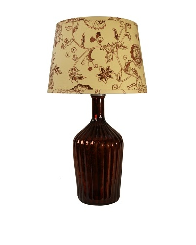 Jamie Young Thalia Fluted Lamp [Antique Chocolate]
