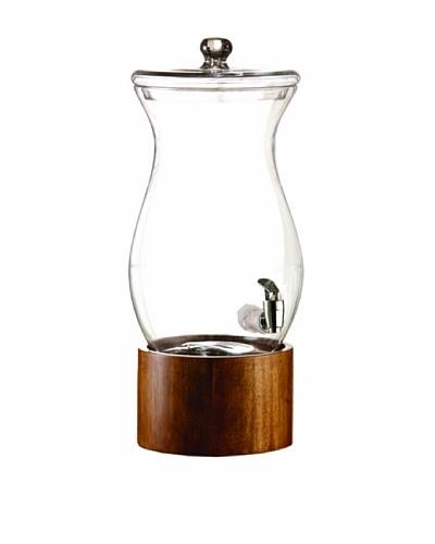 Jay Imports Madera Glass 1.5-Gallon Beverage Dispenser